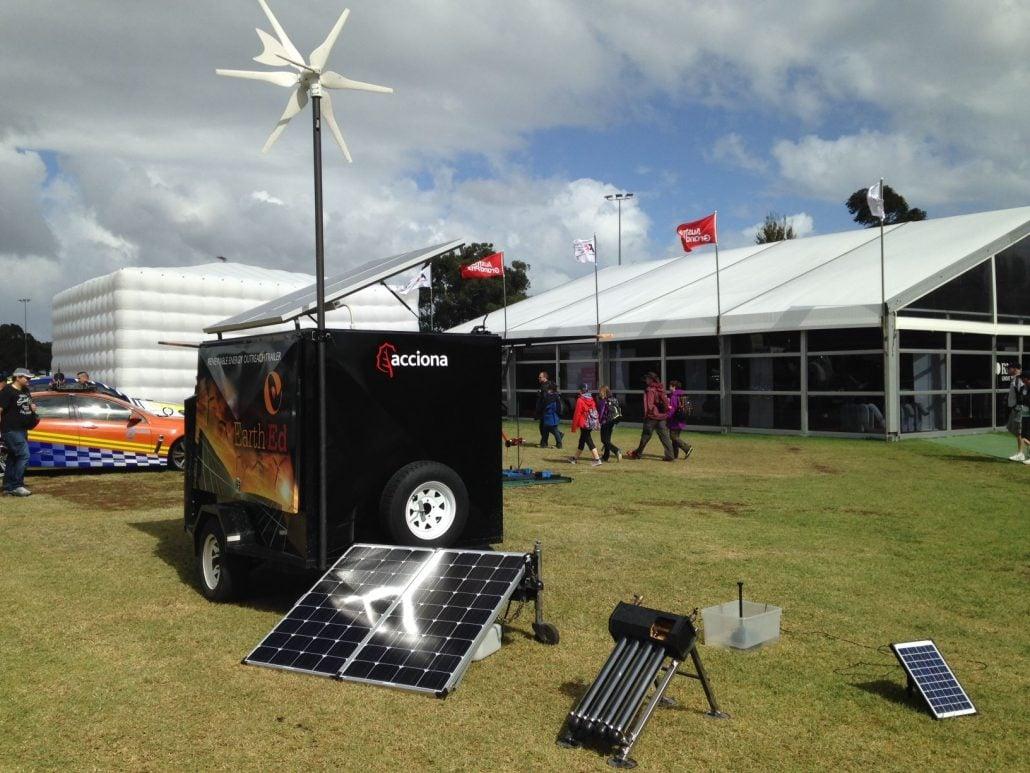 Earth Ed Photos - Outreach Trailer Essential Energy